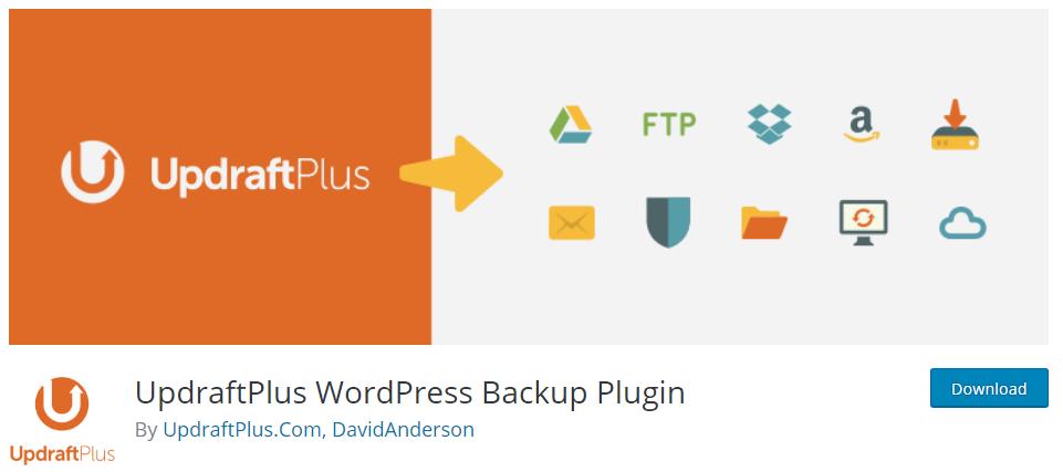 Ein Screenshot von BackWPup aus dem WordPress-Repository